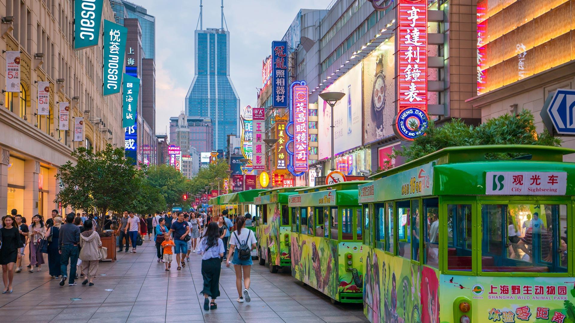 Eindruck von Shanghai